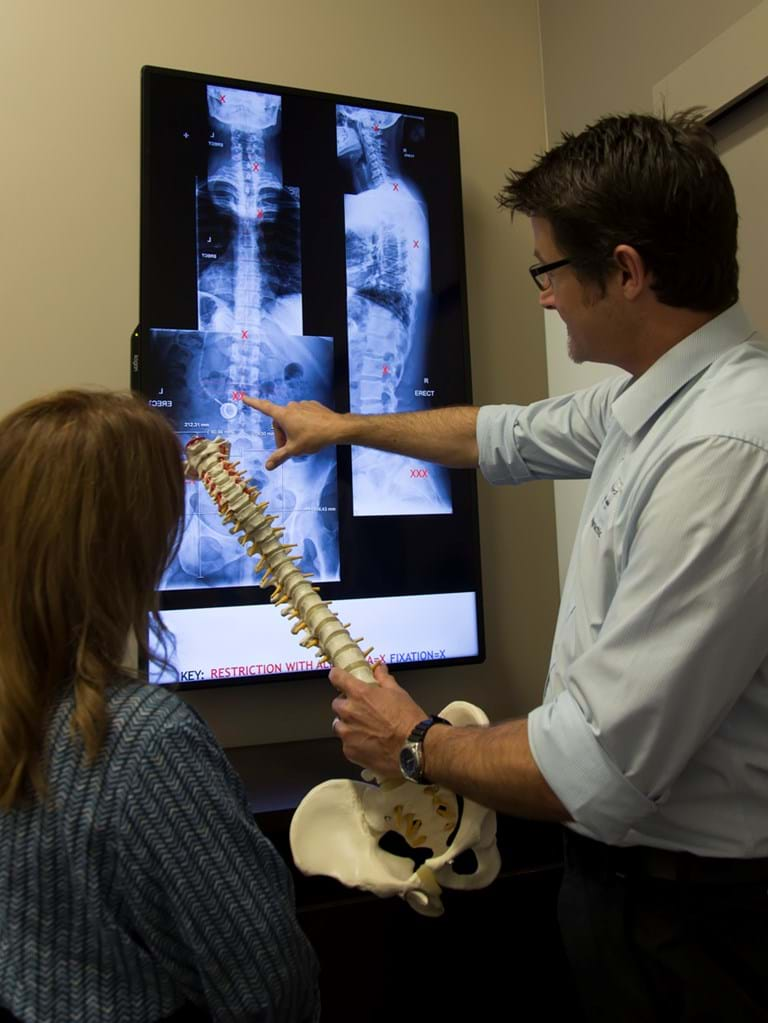 X-Rays for chiropractic assessment
